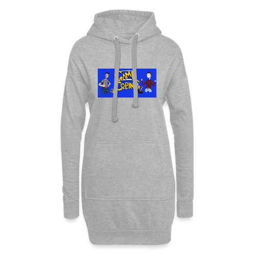 Game Coping Happy Banner - Hoodie Dress