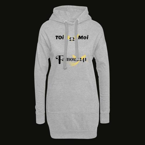 toi💖moi by famous241 - Sweat-shirt à capuche long Femme