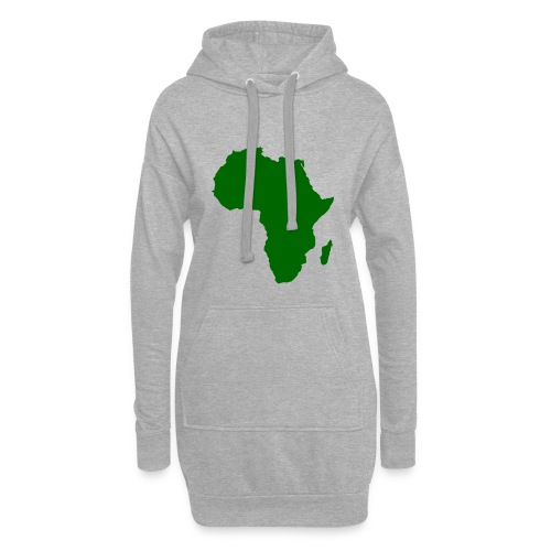 African styles green - Hoodie Dress