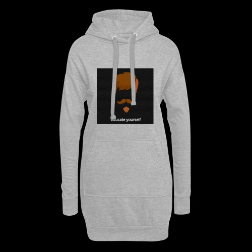 educate yourself - Hoodie Dress