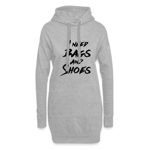 Bags and Shoes - Hoodie-Kleid