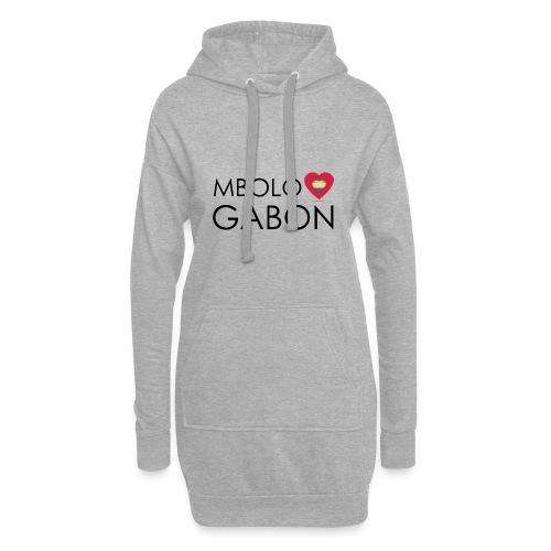 MBOLO GABON - Sweat-shirt à capuche long Femme