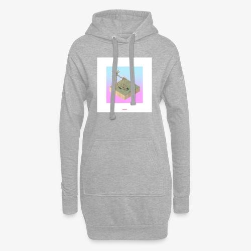 ISLAND #01 - Hoodie-Kleid