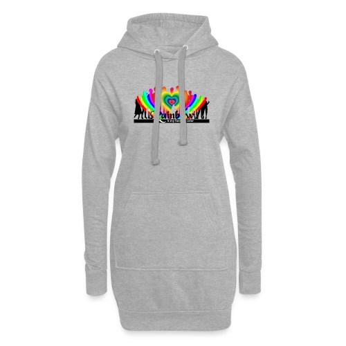 rainbow is my favorite color - Hoodie-Kleid