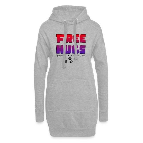 free hugs for dogs - Hoodie-Kleid