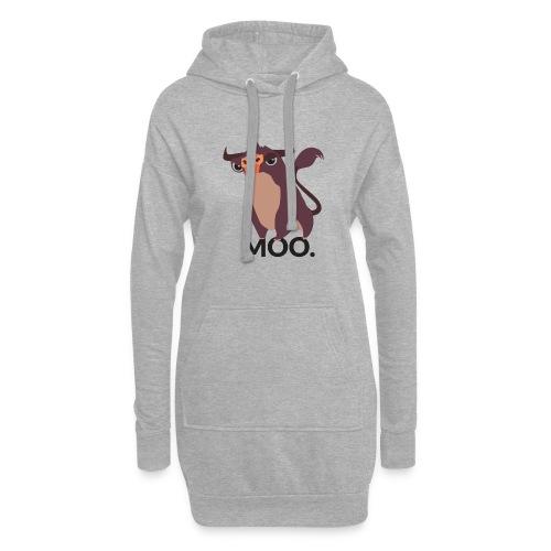 moo - Hoodie-Kleid