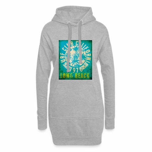 Long Beach Surf Club California 1976 Gift Idea - Hoodie Dress