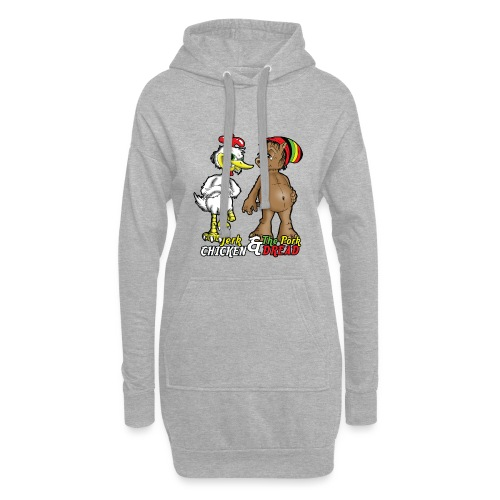 Jerk chickenPork Dread - Hoodie Dress