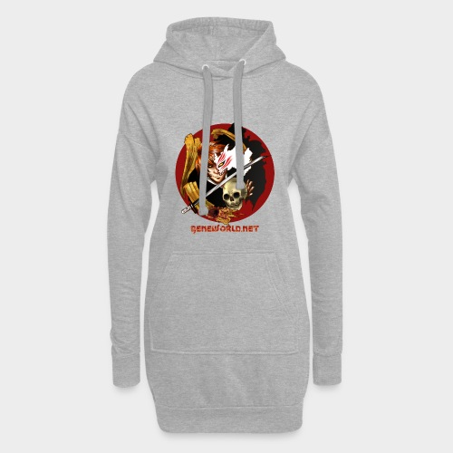 Geneworld - Ichigo - Sweat-shirt à capuche long Femme