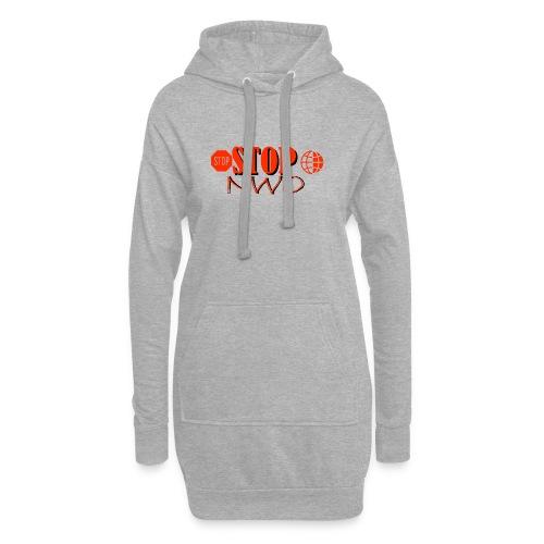 STOPNWO1 - Długa bluza z kapturem