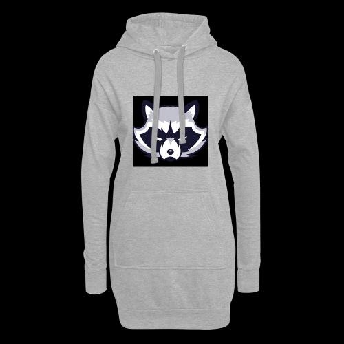 WaschbeerKopf Logo :) - Hoodie-Kleid