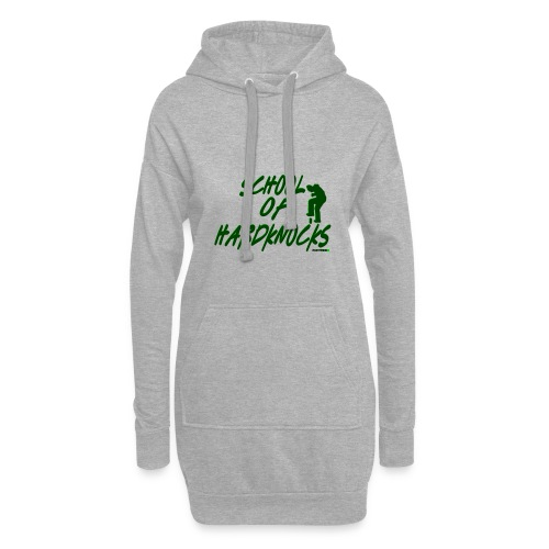 school of hardknocks ver 0 2 green - Hoodie-kjole