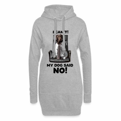 Labrador Boss Hundespruch Labbi - Hoodie-Kleid