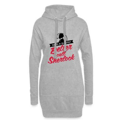 Better Call Sherlock - Hoodie-Kleid