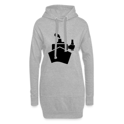 King of the boat - Hoodie-Kleid
