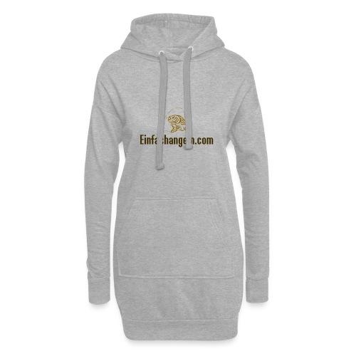 Einfachangeln Teamshirt - Hoodie-Kleid