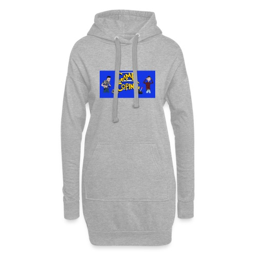 Game Coping Angry Banner - Hoodie Dress