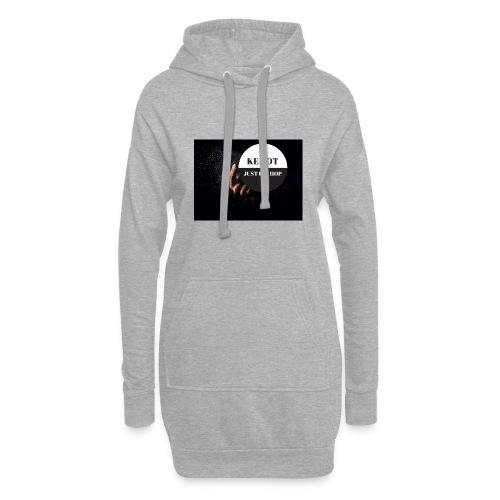 KeMoT odzież limitowana edycja - Długa bluza z kapturem