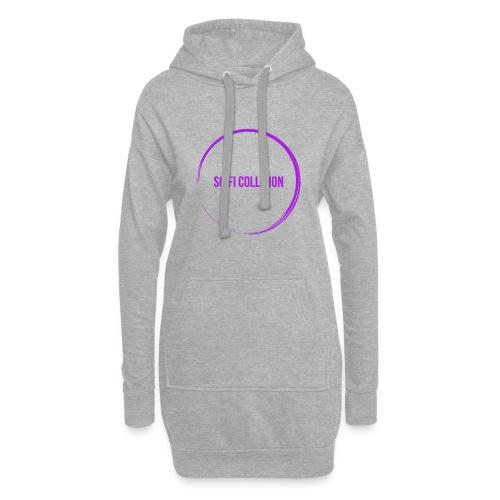 Purple Logo - Hoodie Dress