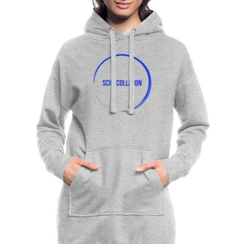 Dark Blue Logo - Hoodie Dress