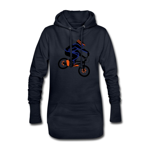 BMX Rider Dark - Hoodiejurk