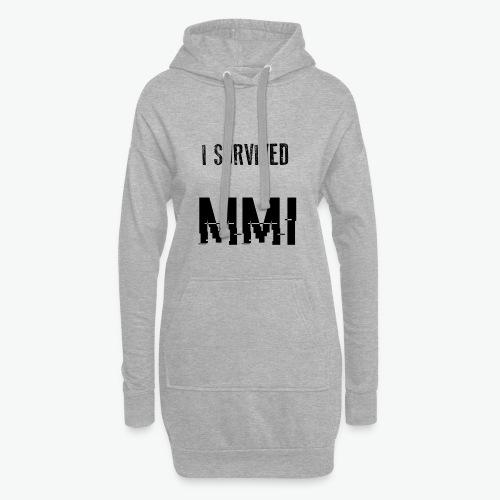MMI SURVIVOR - Sweat-shirt à capuche long Femme