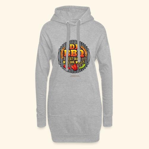 Grill T Shirt lustiger Spruch DJ BBQ - Hoodie-Kleid