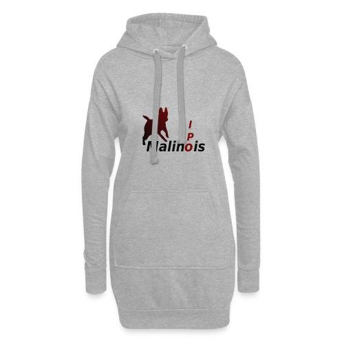 IPO Malinois Männer T-Shirt V Ausschnitt - Hoodie-Kleid