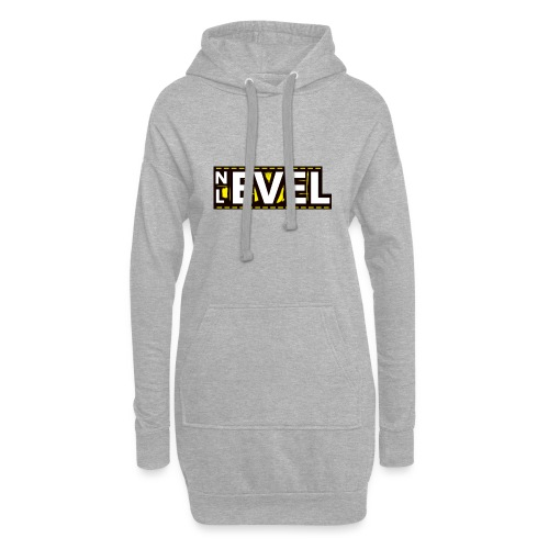 Nevel Level Yellow - Hoodie Dress