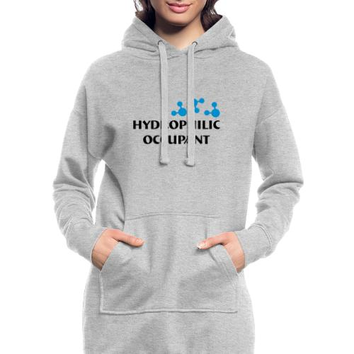 Hydrophilic Occupant (2 colour vector graphic) - Hoodie Dress