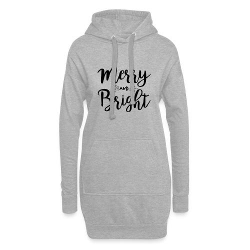 Merry and Bright - Hoodie-Kleid