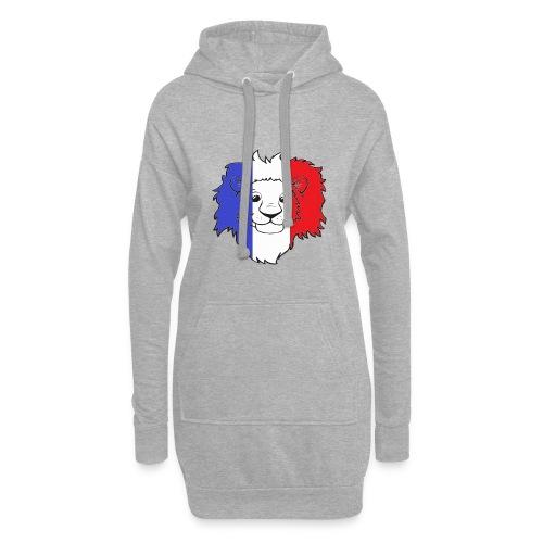 Lion France - Sweat-shirt à capuche long Femme