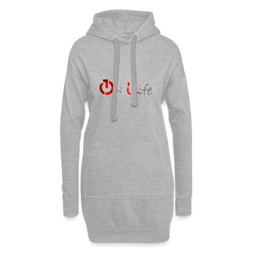 OnLife Logo - Sweat-shirt à capuche long Femme