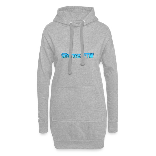 Stormz FTW blue and white fade - Hoodie Dress