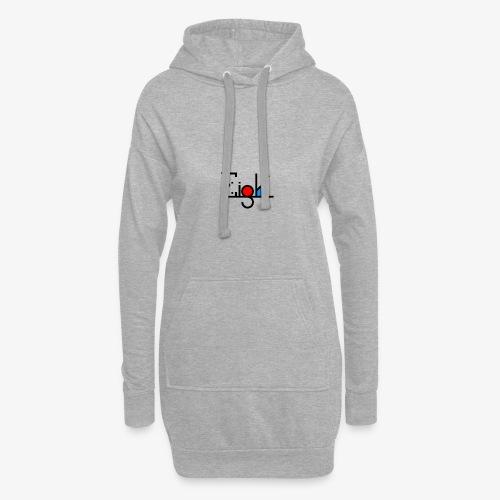 EIGHT LOGO - Sweat-shirt à capuche long Femme