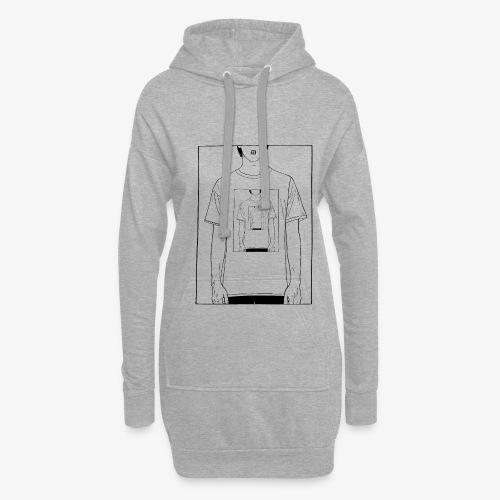 Recursion | Loop | Repeat design | Be creative - Hoodie Dress