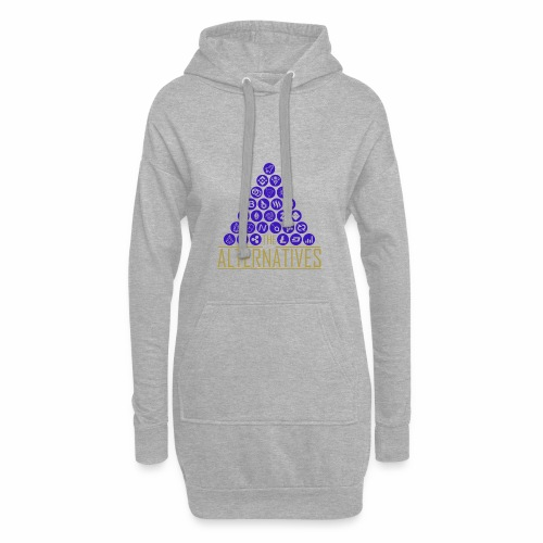 Cryptocurrency AltCoin & Bitcoin Shirt - Hoodie Dress