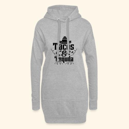 Tacos & Tequila - Hoodie-Kleid