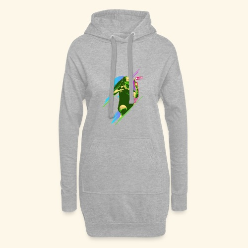 Play with the game and win the championship - Hoodie-Kleid