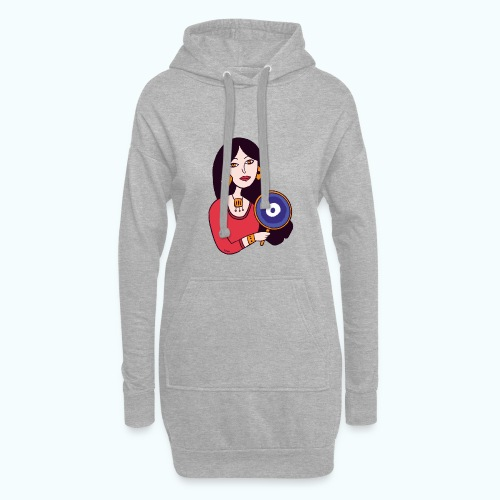 Fashion Girl - Hoodie Dress