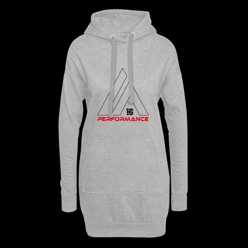 LA Performamce black/red - Hoodie-Kleid
