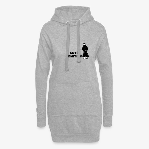 Pissing Man against anti-semitism - Hoodie-Kleid