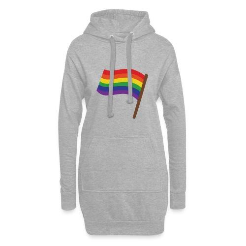 Regenbogenfahne | Geschenk Idee | LGBT - Hoodie-Kleid