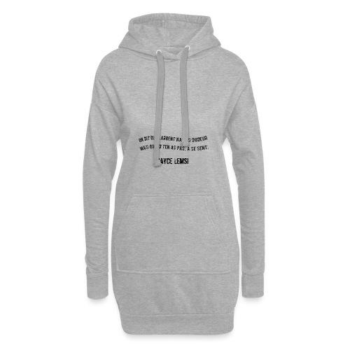 Punchline de Hayce lemsi - Sweat-shirt à capuche long Femme