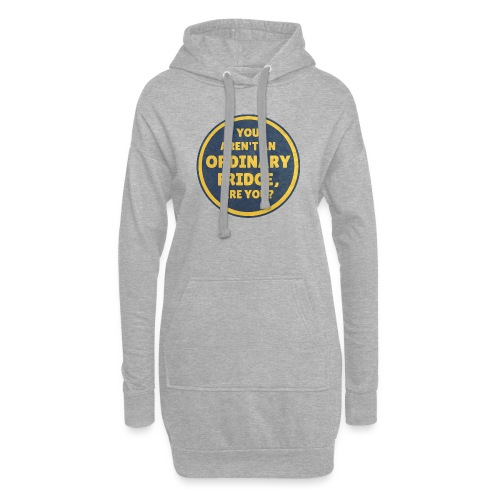 You aren't an Ordinary Fridge, are you? - Hoodie Dress