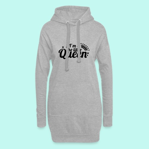 I'm the little Queen - Hoodie-Kleid