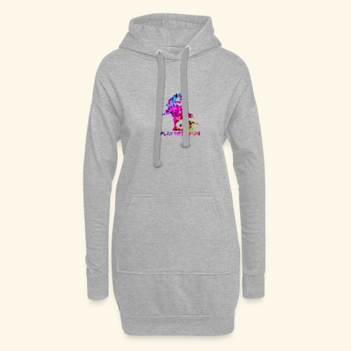 Play with Fun and Win the Championship - Hoodie-Kleid