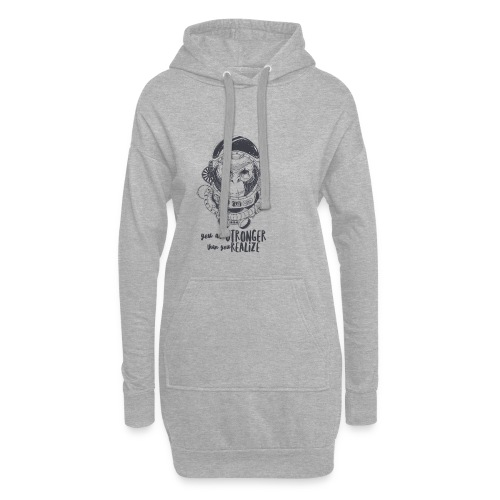 you are stronger - Hoodie-Kleid