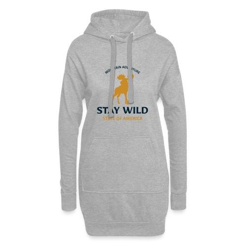 Stay Wild - Hoodie-Kleid