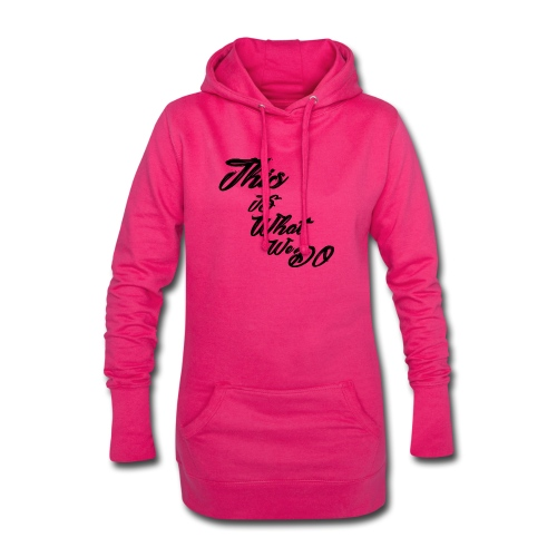 this is what we do bmx mountain bike skater tshirt - Hoodie Dress